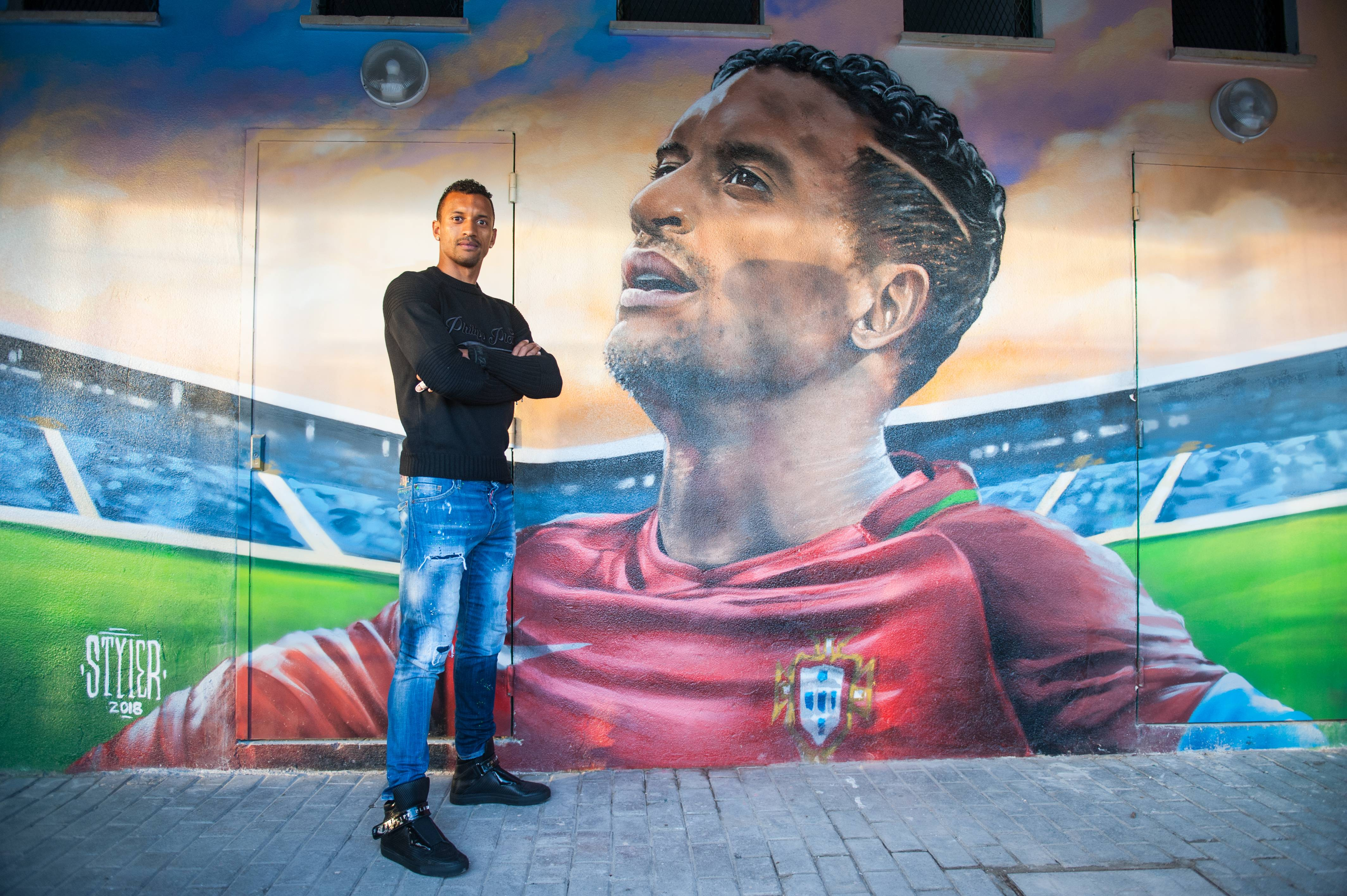 Portuguese football superstar Nani will judge Red Bull Street Style in Miami