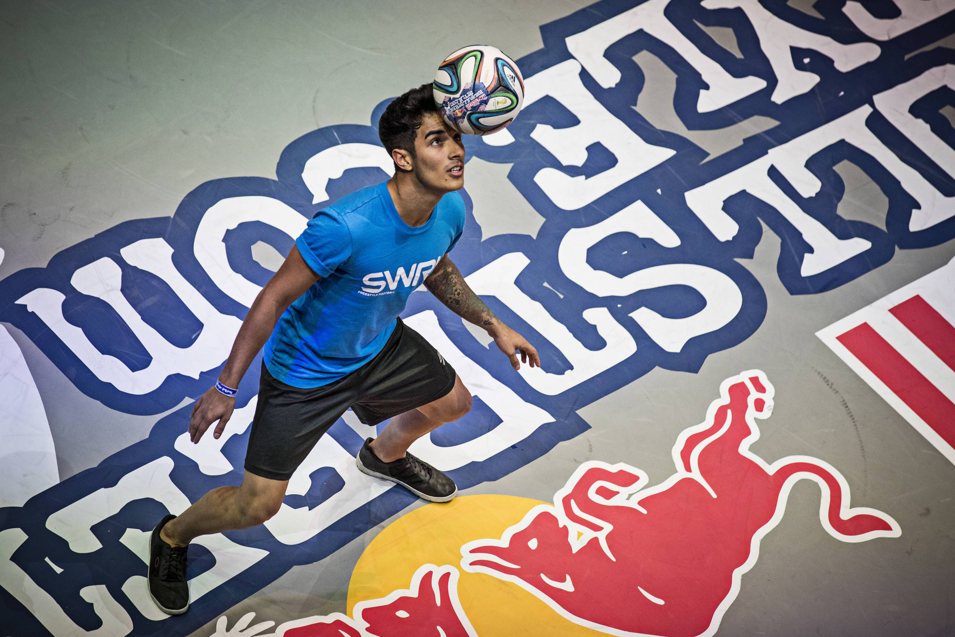 The World Freestyle Football Association partners with Red Bull Street Style