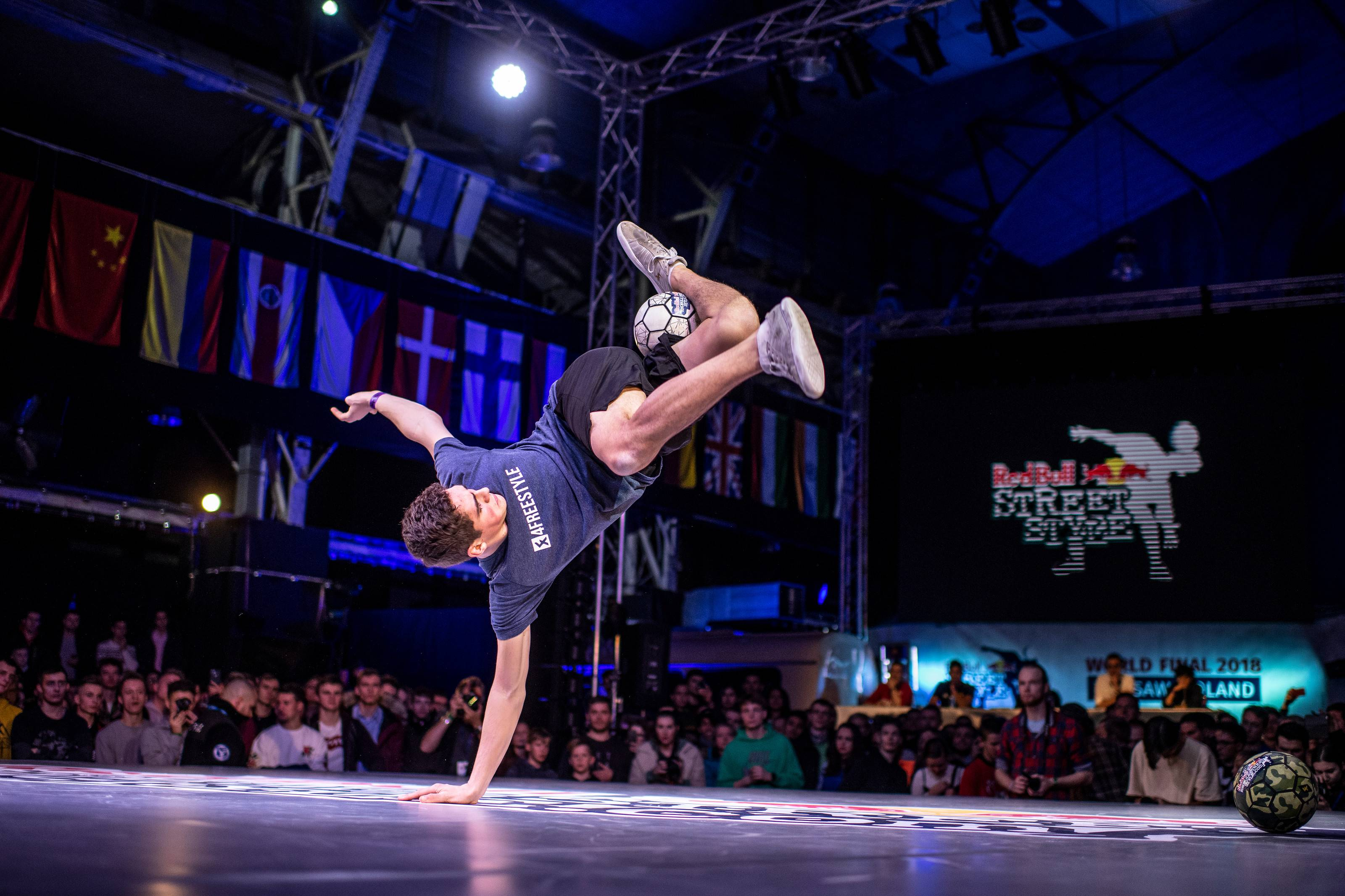 Red Bull Street Style World Final, the official World Championship of freestyle football, debuts in North America this fall