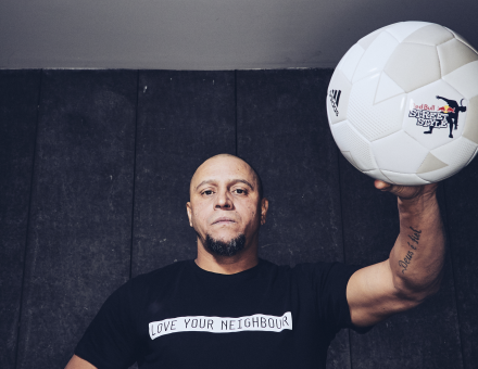 Football legend Roberto Carlos named judge for Red Bull Street Style